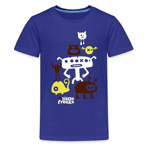 Kinder T-Shirt Little Freakz - Teenager Premium T-Shirt