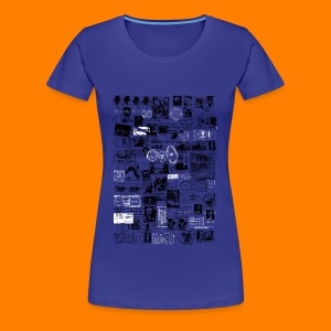 Franks and stamps tee for women - Women's Premium T-Shirt