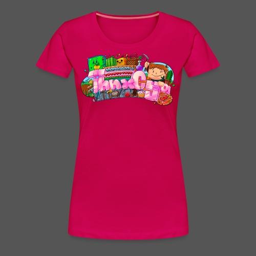 WOMENS - Hearts - Women's Premium T-Shirt