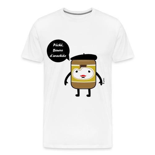 french peanutbutter - Mannen Premium T-shirt