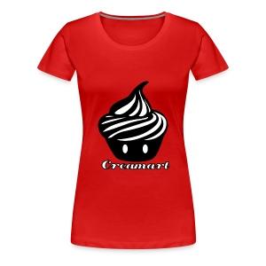 T-shirt Creamart Classics Original cintré Femme - T-shirt Premium Femme