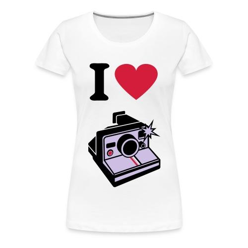 I love Polaroid - LRY Special - Women's Premium T-Shirt