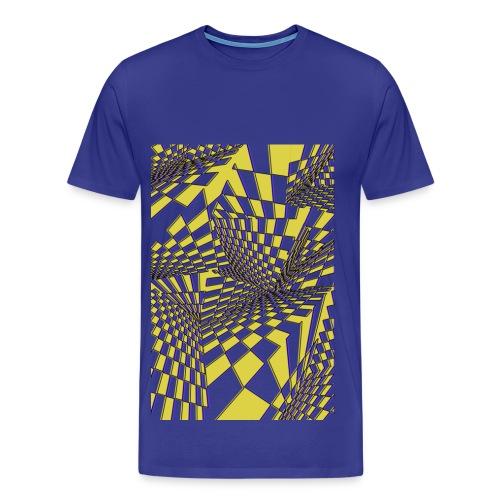 Cube Fusion - Männer Premium T-Shirt