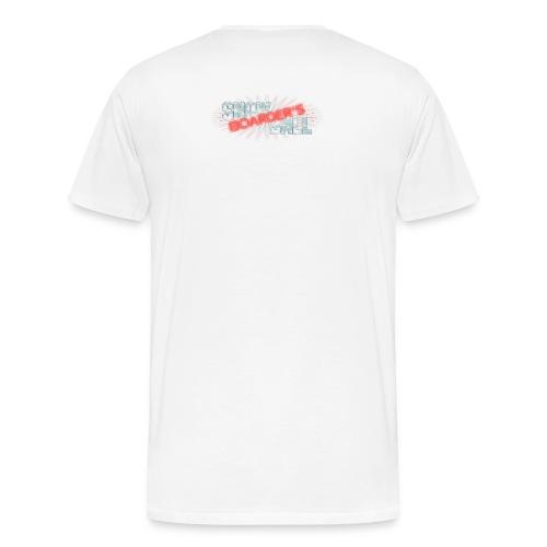 ØDD snowBALL V shirt 1w - Männer Premium T-Shirt