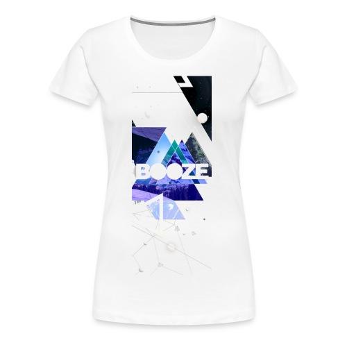 Girl Shirt Booze. - Vrouwen Premium T-shirt