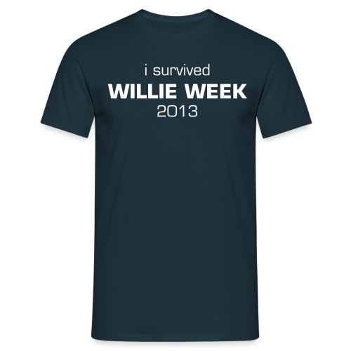I survived Willie Week 2013 - Men's T-Shirt