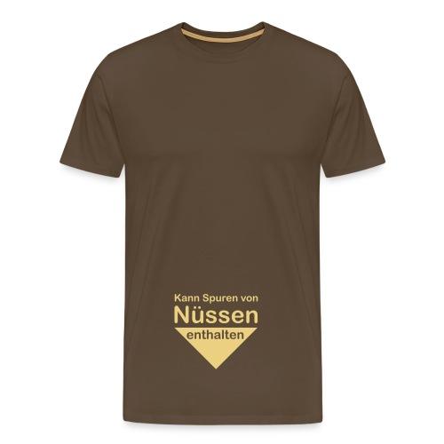 Got Nuts Brown - Männer Premium T-Shirt