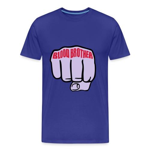 Blood brother - Premium-T-shirt herr