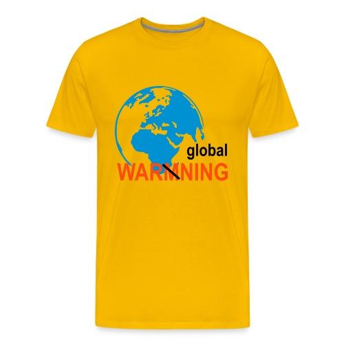 Global warmning - Premium-T-shirt herr
