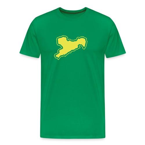 sachsen - Männer Premium T-Shirt
