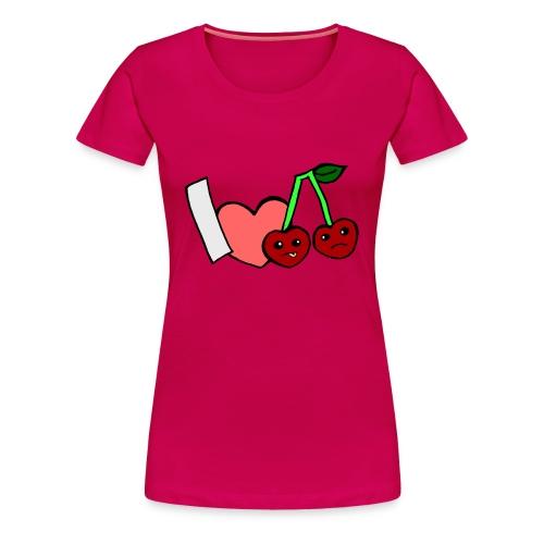 IchmagKirschen - Frauen Premium T-Shirt