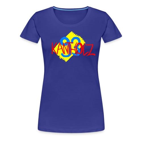 Kantholz93 Damen T-Shirt Türkis - Frauen Premium T-Shirt