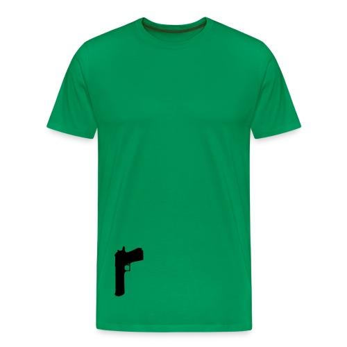 Gun - Camiseta premium hombre