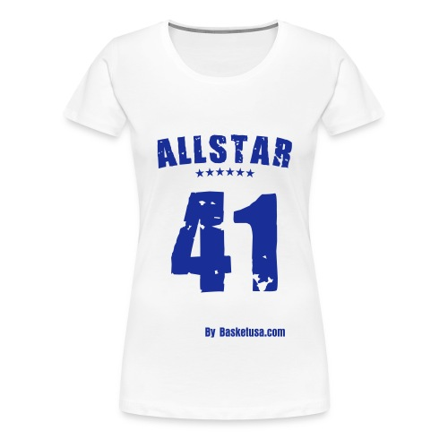 T-Shirt Woman All Star  - T-shirt Premium Femme