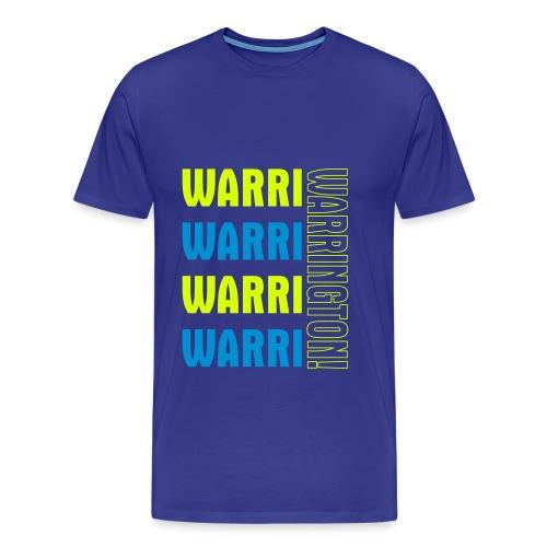 Warri Warrington Blue T - Men's Premium T-Shirt