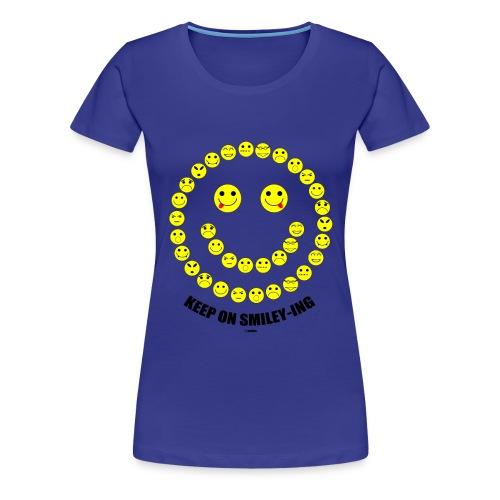 Keep on ... - Vrouwen Premium T-shirt