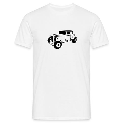 Hot Rod Oldtimer 1 - Flockdruck - Männer T-Shirt