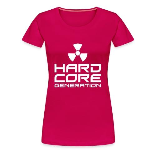 Hardcore Womens T-Shirt - Women's Premium T-Shirt