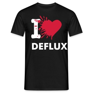 I Love Deflux - Men's T-Shirt