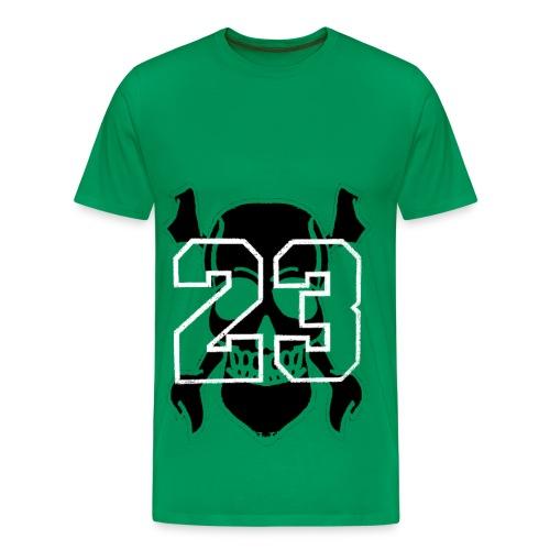T shirt homme tete de mort - T-shirt Premium Homme