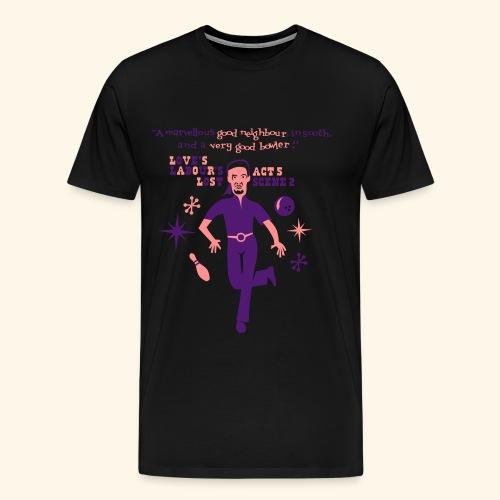 A Very Good Bowler, Mister Big - Männer Premium T-Shirt