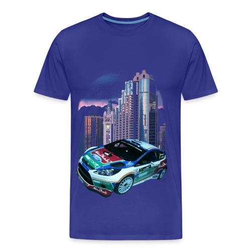 rally-car  - Männer Premium T-Shirt