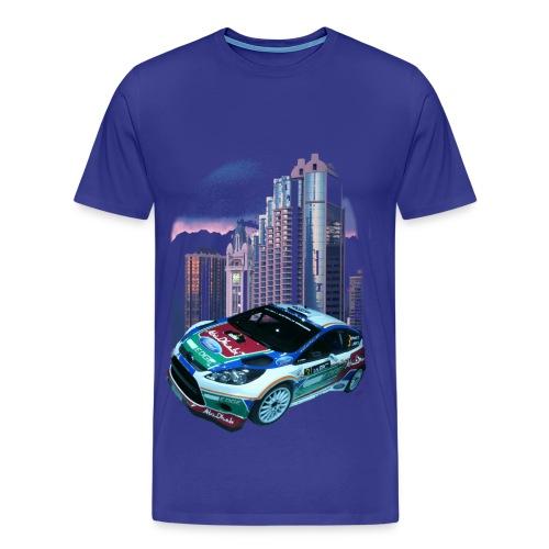 rally-car  - Männer Premium T-Shirt