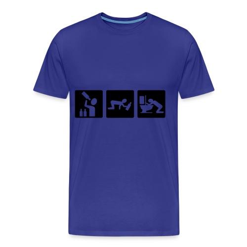 Alcohol t-shirt - Men's Premium T-Shirt
