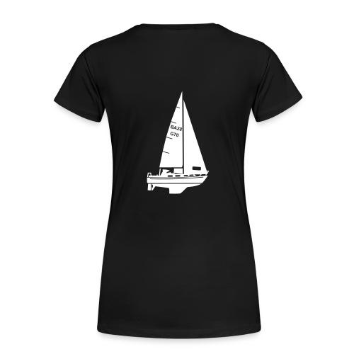 T-Shirt mit Segelmotiv (Bandholm 28) - Frauen Premium T-Shirt