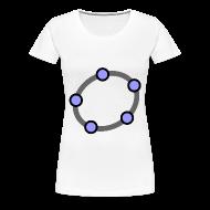 T-Shirts ~ Women's Premium T-Shirt ~ GeoGebra Shirt (large logo)