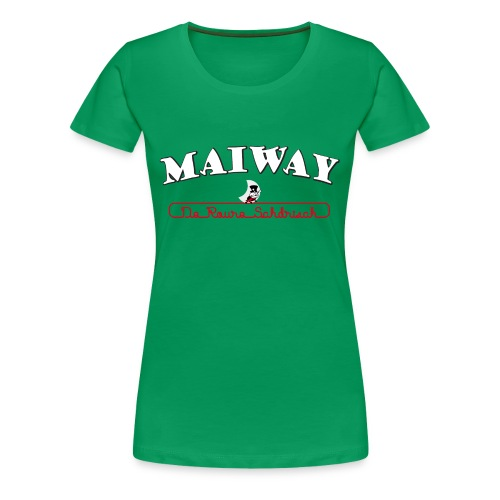 Maiway Damen Shirt - Frauen Premium T-Shirt