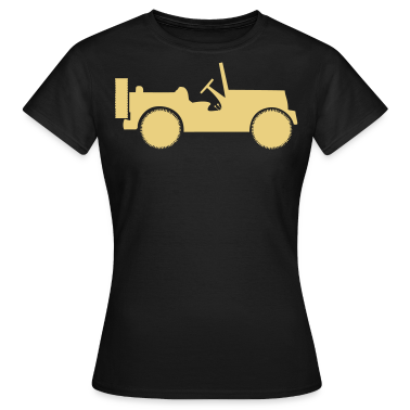 military jeep car T-Shirts