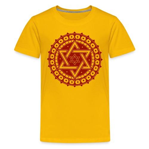 Davidstern - Teenager Premium T-Shirt