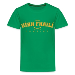 Vintage Offaly Hurling T-Shirt - Teenage Premium T-Shirt