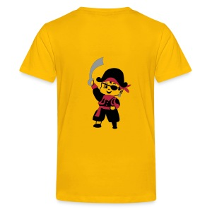 Pirate Kid Billy design by Patjila - Teenager Premium T-shirt