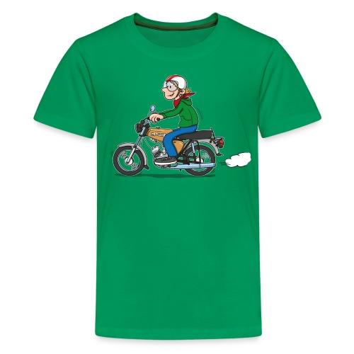 Comic S50-Fahrer für Kinder - Teenager Premium T-Shirt
