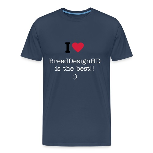 BreedDesignHD - Men's Premium T-Shirt