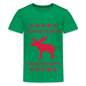 Kid's christmas clasic T-shirt - Teenage Premium T-Shirt
