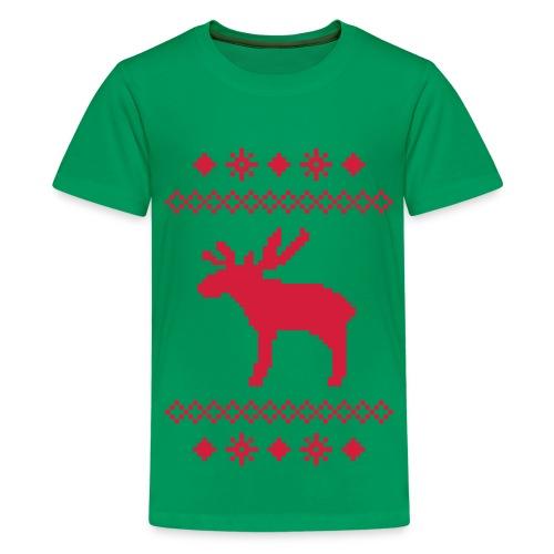 Kid's christmas clasic T-shirt - Teenage Premium T-Shirt