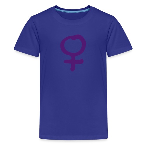 Frau - Teenager Premium T-Shirt