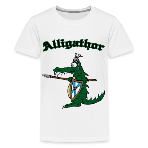 Kinder T-Shirt Alligathor - Teenager Premium T-Shirt