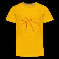 T-shirt Premium Ado avec motif Basket-ball Basketball Basket