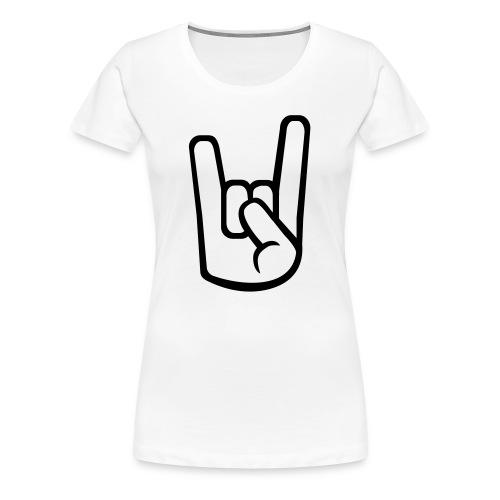 Freeski [Kvinde] - Dame premium T-shirt