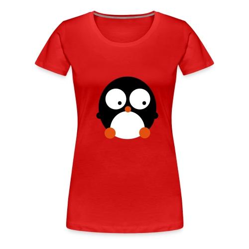 Happy Pingu - Frauen Premium T-Shirt
