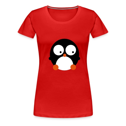 Happy Pingu - Frauen Premium T-Shirt