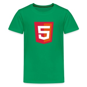 HTML5 kiddie coder - Teenager Premium T-shirt