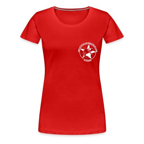 Tshirt Femme Rouge foncé - T-shirt Premium Femme