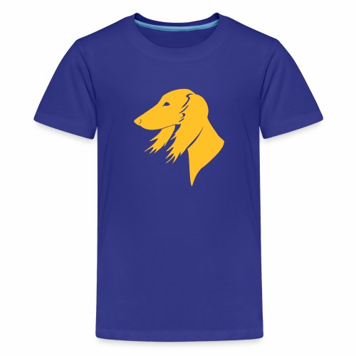 Saluki-Kopf - Teenager Premium T-Shirt