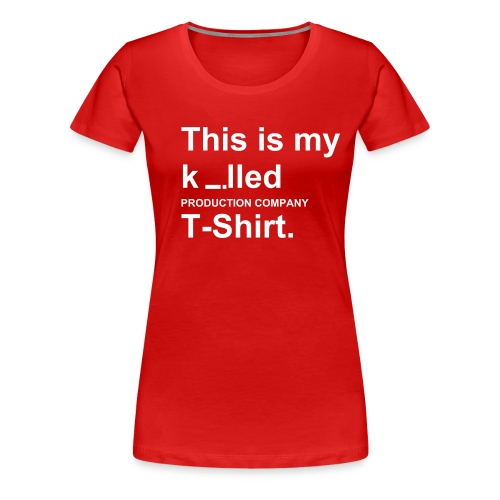Killed t-shirt - Vrouwen Premium T-shirt