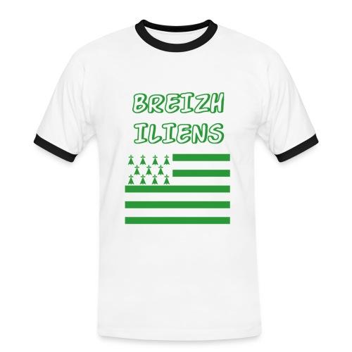 Breizhiliens - T-shirt contrasté Homme